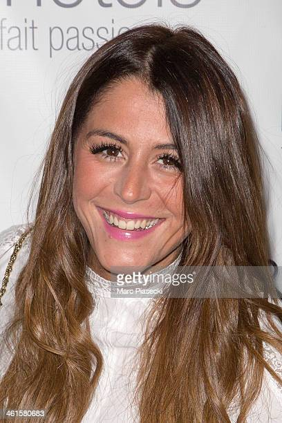 Anais Camizuli attends the Lauriers TV Awards 2014 at La Cigale on January 9 2014 in Paris France