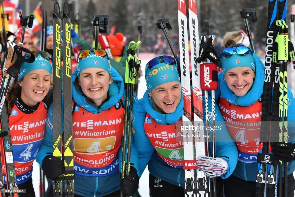 IBU World Cup Biathlon Ruhpolding - Women's Relay : Photo d'actualité