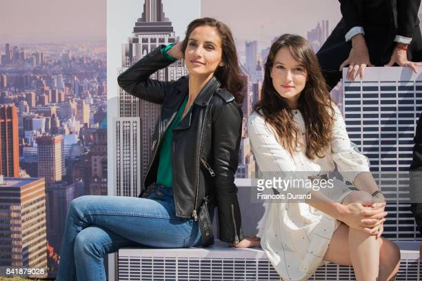 Anais Demoustier and Leonor Varela pose at the Revelation Jury photocall during the 43rd Deauville American Film Festival on September 2 2017 in...