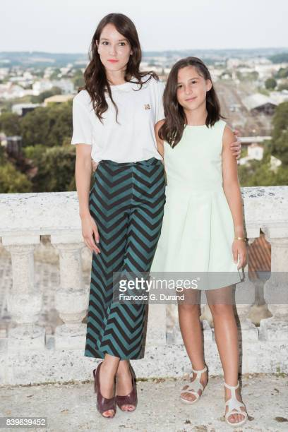 Anais Demoustier and Luce Rodriguez attend the 10th Angouleme FrenchSpeaking Film Festival on August 26 2017 in Angouleme France