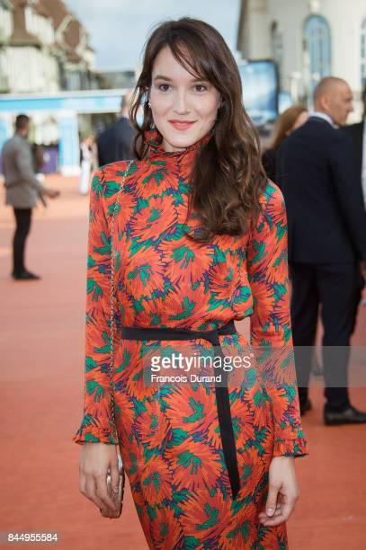 Anais Demoustier arrives at the closing ceremony of the 43rd Deauville American Film Festival on September 9 2017 in Deauville France