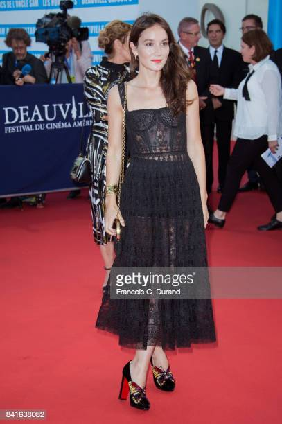 Anais Demoustier arrives at the opening ceremony of the 43rd Deauville American Film Festival on September 1 2017 in Deauville France