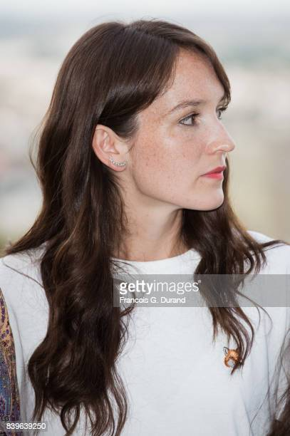 Anais Demoustier attends the 10th Angouleme FrenchSpeaking Film Festival on August 26 2017 in Angouleme France