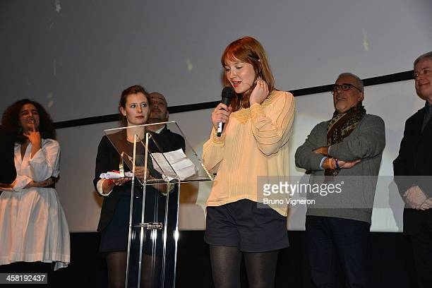 Anais Demoustier attends the 5th edition of Les Arcs European Film Festival on December 20 2013 in Les Arcs France