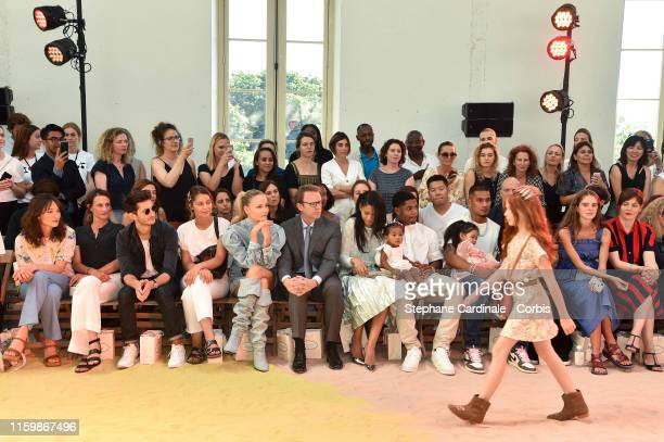 Anais Demoustier Camille Cottin Pierre Niney Marie Ange Casta Natasha Poly Christopher Descours Chanel Iman Cali Clay Shepard Sterling Shepard...