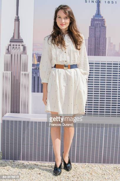 Anais Demoustier poses at the Revelation Jury photocall during the 43rd Deauville American Film Festival on September 2 2017 in Deauville France
