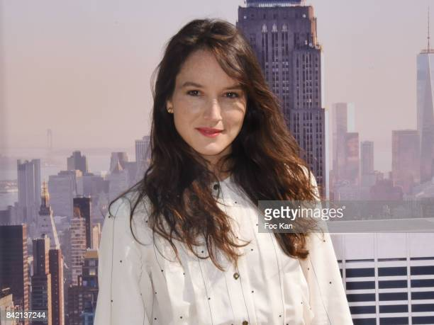 Anais DemoustierÊposes at the Revelations Jury photocall during the 43rd Deauville American Film Festival on September 2 2017 in Deauville France
