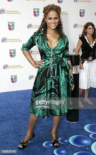 Anais during 2006 Premios Juventud Awards Arrivals at University of Miami BankUnited Center in Miami Florida United States