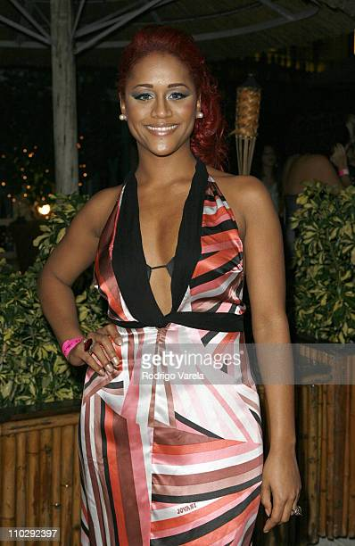 Anais during Premio Lo Nuestro a la Musica Latina 2007 After Party at Bongos Cuban Cafe in Miami Florida United States