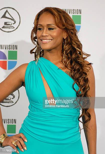 Anais during The 7th Annual Latin GRAMMY Awards Arrivals at Madison Square Garden in New York New York United States