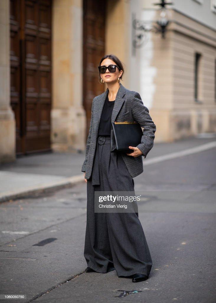 Street Style - Berlin - November 10, 2018 : Fotografía de noticias