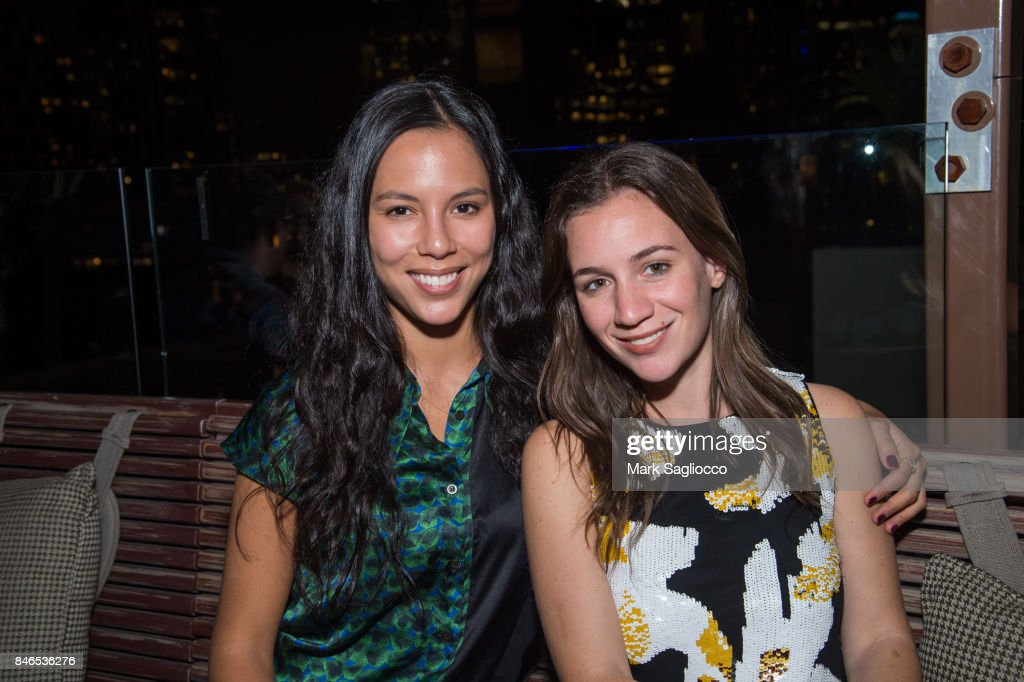 Anais Fifer and Caitlin Keating attend Hamptons Magazine's Celebration with Cover Star Maria Sharapova at PHD Terrace at Dream Midtown on September 12, 2017 in New York City.