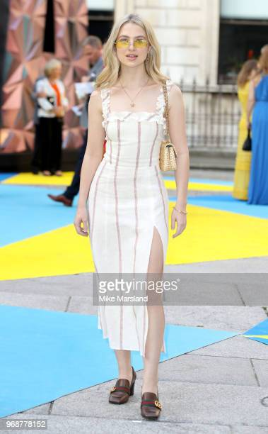 Anais Gallaghe attends the Royal Academy of Arts Summer Exhibition Preview Party at Burlington House on June 6 2018 in London England