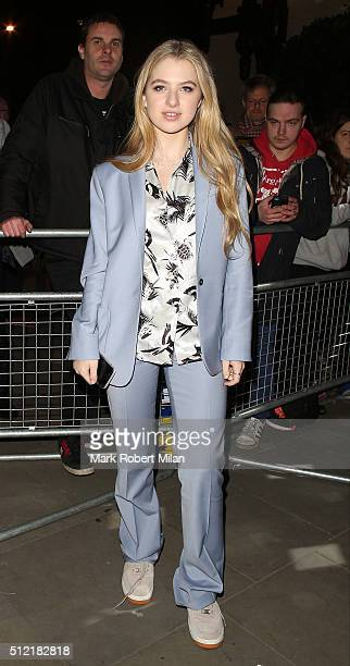 Anais Gallagher attending the The Brit Awards Warner Music Group After Party on February 24 2016 in London England