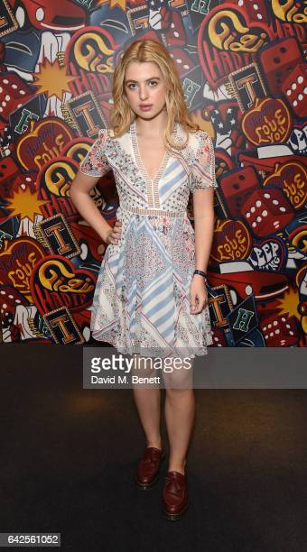 Anais Gallagher attends as model Gigi Hadid launches her spring 2017 TommyXGigi capsule collection designed with Tommy Hilfiger at the Tommy Hilfiger...