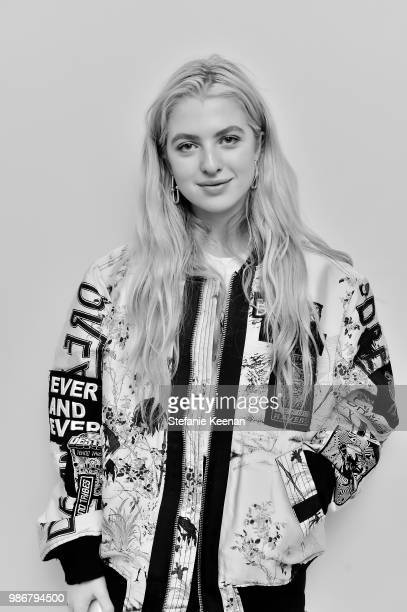 Anais Gallagher attends Diesel Presents Scott Lipps Photography Exhibition 'Rocks Not Dead' at Sunset Tower on June 28 2018 in Los Angeles California