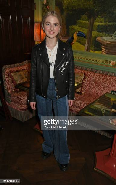 Anais Gallagher attends the Annabel's x Dior dinner on May 21 2018 in London England