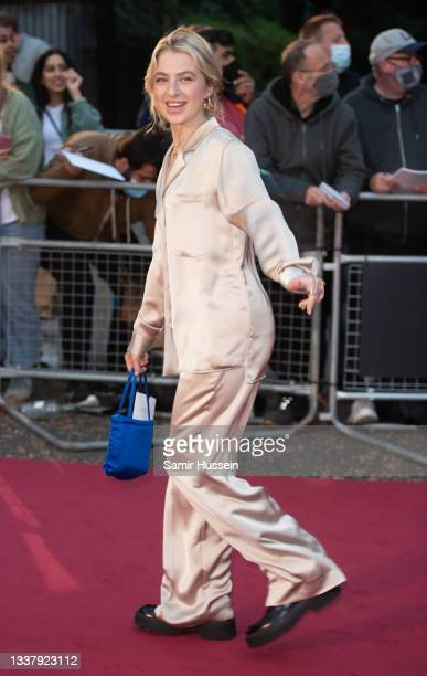 Anais Gallagher attends the GQ Men Of The Year Awards 2021 at Tate Modern on September 01, 2021 in London, England.
