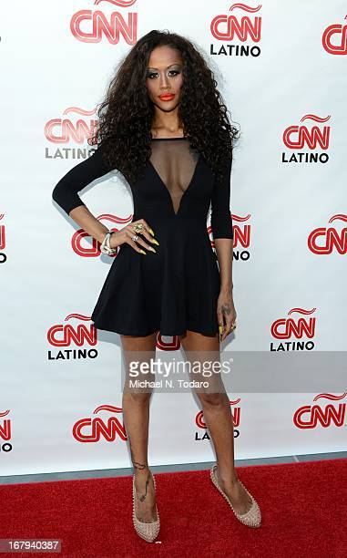 Anais Martinez attends the 2013 CNN en Espanol and CNN Latino Upfront at Ink 48 Hotel on May 2 2013 in New York City