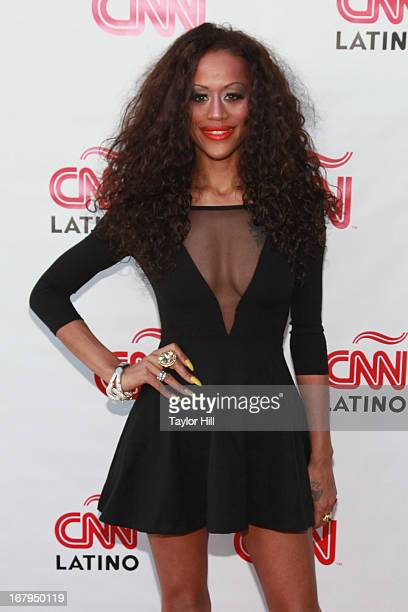 Anais Martinez attends the CNN en Espanol and CNN Latino 2013 Upfront at Ink 48 Hotel on May 2 2013 in New York City