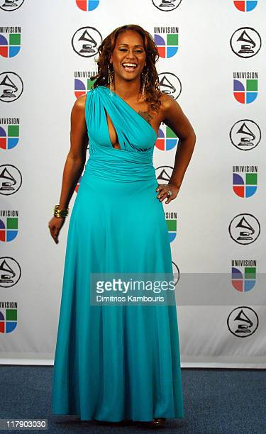 Anais presenter during The 7th Annual Latin GRAMMY Awards Press Room at Madison Square Garden in New York City New York United States