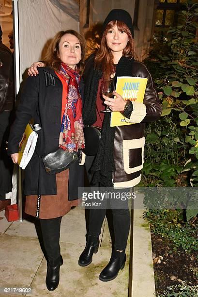Anais Tellenne and Daisy dÕErrata attend Les Fooding 2017 / Cocktail at Cathedrale Americaine de Paris on November 7 2016 in Paris France