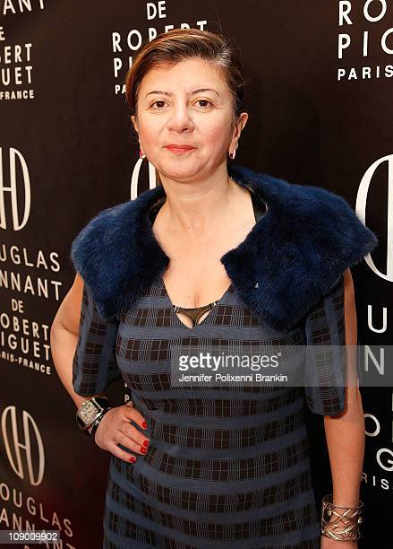 Anait Bian attends the Douglas Hannant fragrance launch at the Payne Whitney Mansion on February 10 2011 in New York City