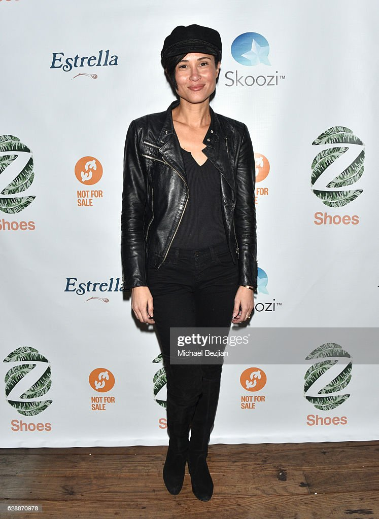 Anaka Lee arrives at Not For Sale x Z Shoes Benefit at Estrella Sunset on December 9, 2016 in West Hollywood, California.