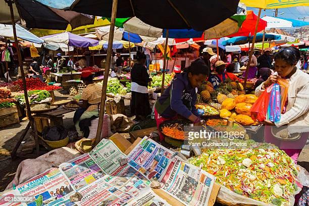 Analakely Market, Antananarivo, Madagascar