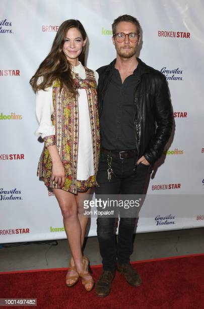 Analeigh Tipton and Jake McDorman attend premiere of Gravitas Ventures' 'Broken Star' at TCL Chinese 6 Theatres on July 18 2018 in Hollywood...
