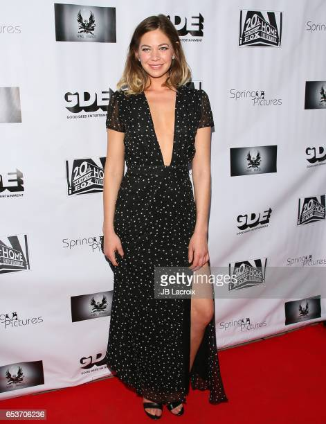 Analeigh Tipton attends a screening of Good Deed Entertainment's 'All Nighter' on March 15 2017 in Beverly Hills California
