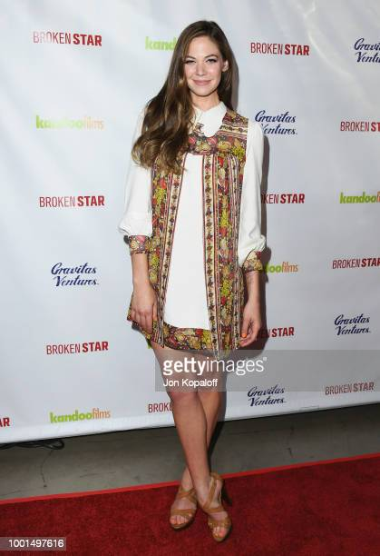 Analeigh Tipton attends premiere of Gravitas Ventures' 'Broken Star' at TCL Chinese 6 Theatres on July 18 2018 in Hollywood California