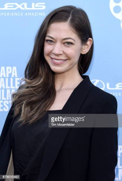 Analeigh Tipton attends the Rising Star Showcase at Materra | Cunat Family Vineyards during ithe 7th Annual Napa Valley Film Festival on November 11...