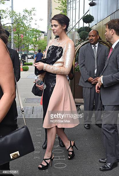 Analeigh Tipton is seen on May 13 2014 in New York City