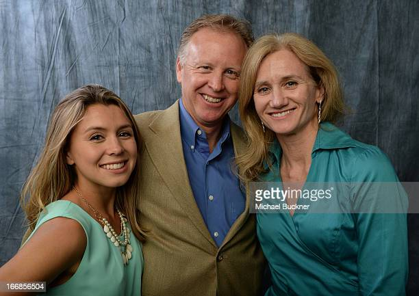 AnaLisa Darren and Fonda Wolf pose for a portrait during the 17th Annual City Of Lights City Of Angels Film Festival at the Directors Guild Of...