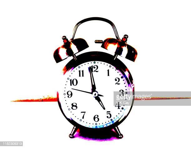 analog alarm clock - k pop ストックフォトと画像