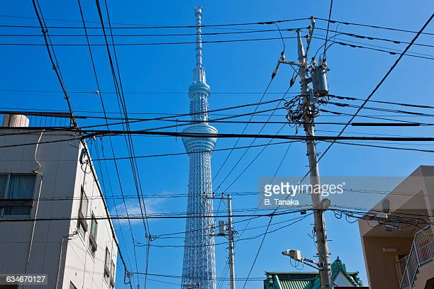 Analog Wires Obscure Digital Future in Tokyo