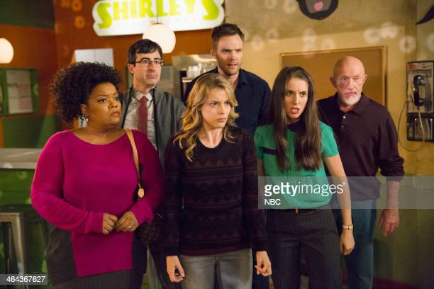 COMMUNITY 'Analysis of CorkBased Networking' Episode 506 Pictured Yvette Nicole Brown as Shirley John Oliver as Professor Ian Duncan Gillian Jacobs...