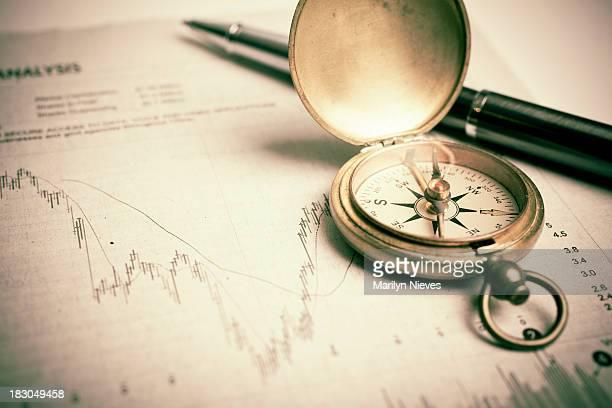 証券のトレンドの分析