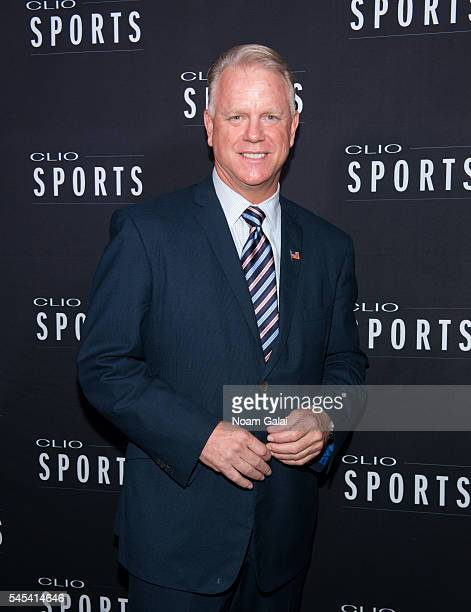 NFL analyst and radio host Boomer Esiason attends the 2016 CLIO Sports Awards at Capitale on July 7 2016 in New York City