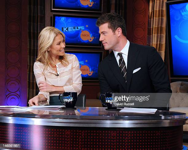 KELLY ESPN analyst former NFL quarterback and Bachelor star Jesse Palmer is Kelly's cohost on LIVE WITH KELLY 1/12/12 airing in more than 200 markets...