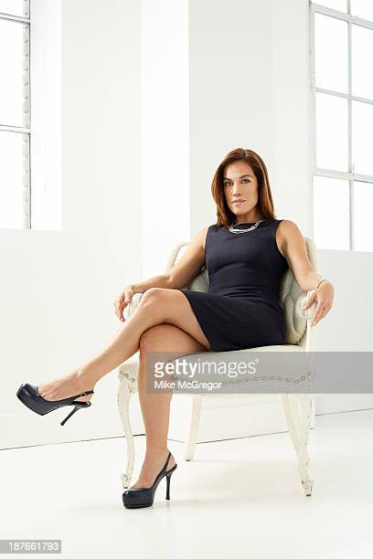 Analyst Timna Tanners is photographed for Institutional Investor Magazine on September 12 2013 in New York City PUBLISHED IMAGE