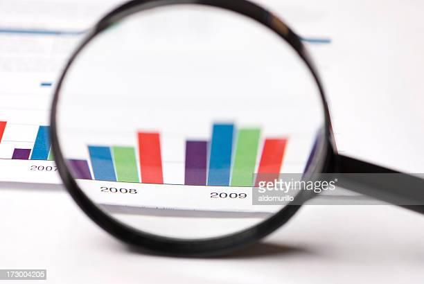analyzing graphic - 採点 ストックフォトと画像