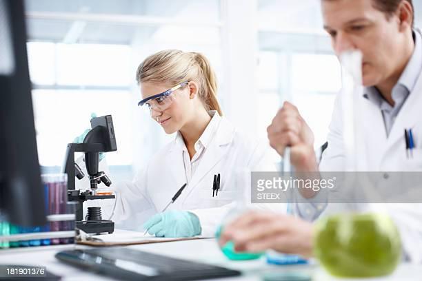 Analyzing samples