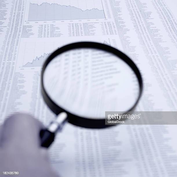 Analyzing the stock market through a magnifying glass
