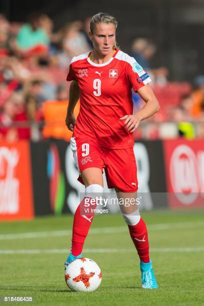 AnaMaria Crnogorcevic of Switzerland women during the UEFA WEURO 2017 Group C group stage match between Austria and Switzerland at The Adelaarshorst...