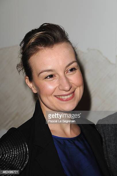 Anamaria Marinca attends the 'Cesar Revelations 2014' Cocktail Party and Dinner at Salons Chaumet on January 13 2014 in Paris France