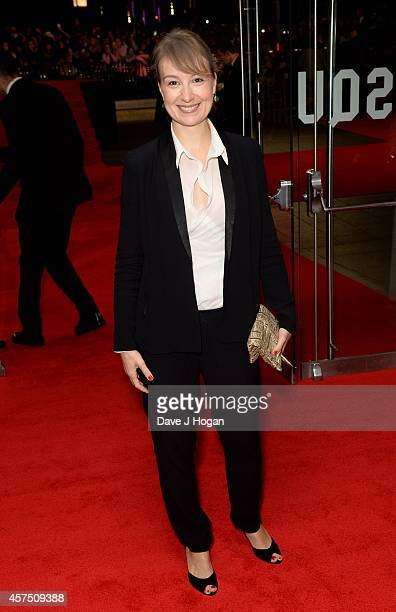 Anamaria Marinca attends the closing night European Premiere gala red carpet arrivals for 'Fury' during the 58th BFI London Film Festival at Odeon...
