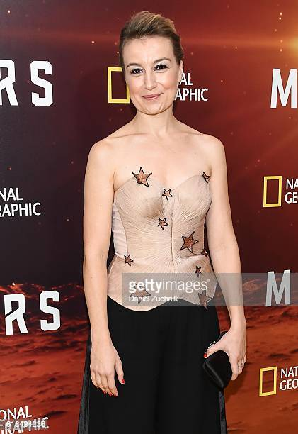 Anamaria Marinca attends the National Geographic Channel 'MARS' New York Premiere at the School of Visual Arts on October 26 2016 in New York City