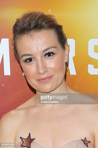 Anamaria Marinca attends the National Geographic Channel 'MARS' Premiere NYC on October 26 2016 in New York City